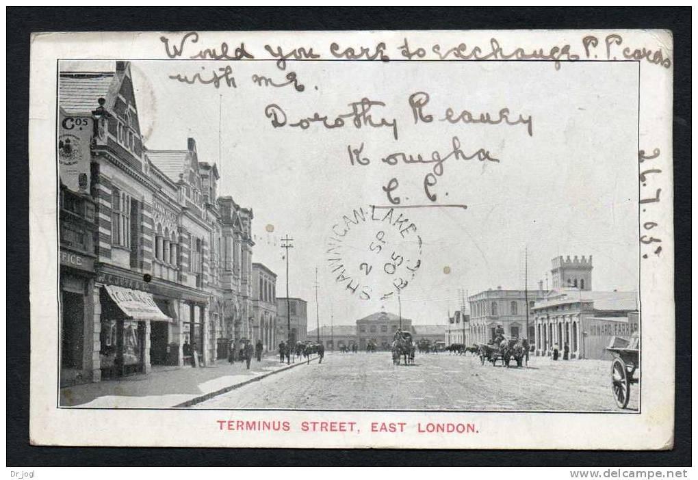 SA8) Cape Of Good Hope - East London - Terminus Street - 1905 - Afrique Du Sud