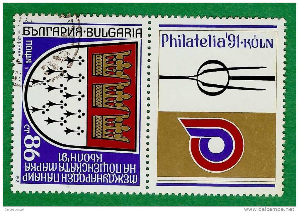 V 145 - 1991 - BULGARIE  N°  3396  Oblitéré - Unclassified