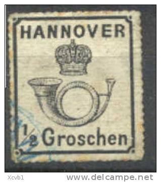 HANOVER     26,  Used,  SCV$225.00,  (hv026-2,   Michel  22y. - Hanover