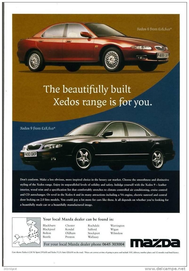 Mazda Xedos Range Advertisment 1997 - Cars