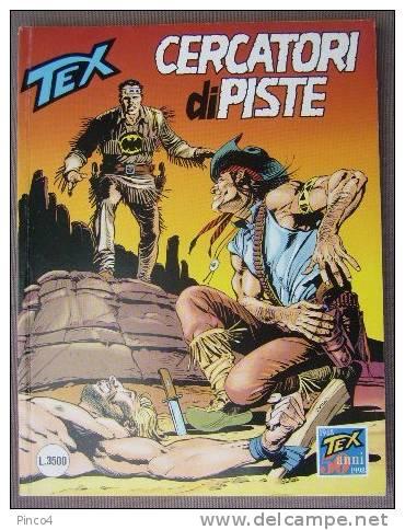 RISTAMPA TRE STELLE TEX  N° 417 CERCATORI DI PISTE - Tex