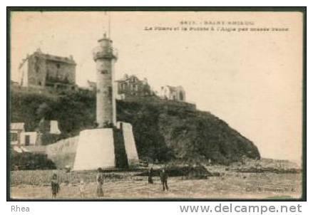 22 Saint-Brieuc 4673 - SAINT-BRIEUC Le Phare Et La Pointe à L'Aigle Par Marée Basse Ph D22D K22278K C22278C RH009001 - Saint-Brieuc