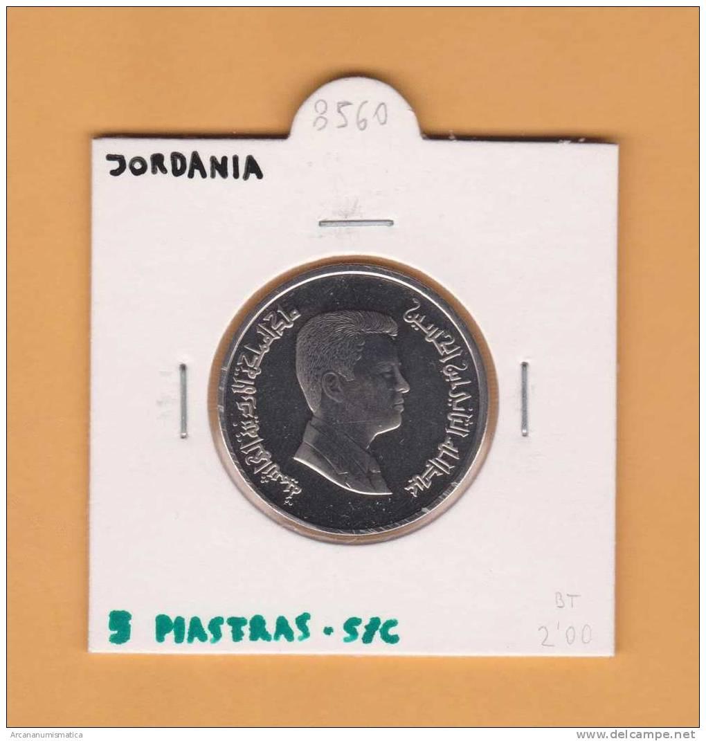 JORDANIA  5 PIASTRAS   SC/UNC     DL-8560 - Jordania