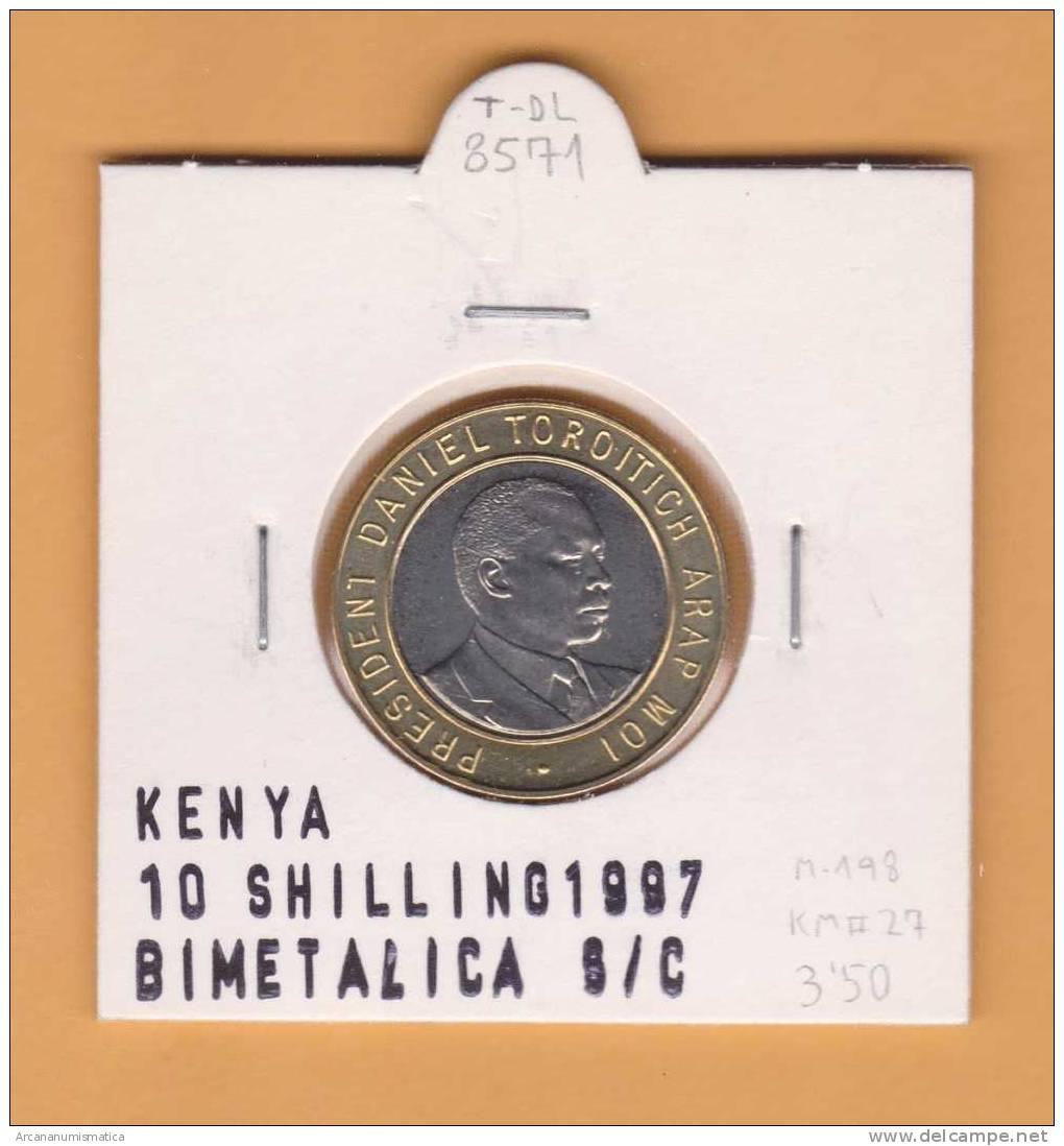 KENYA   10  SCHILLING    1.997  KM#27    BIMETALICA    SC/UNC      DL-8571 - Kenia