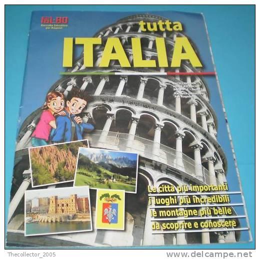 ALBUM Figurine VUOTO (FOL.BO) PER LA RACCOLTA: TUTTA ITALIA - Panini