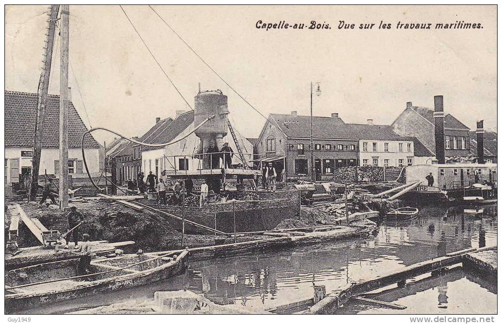 ZICHT OP DE SCHEEPSWERF(PRACHTKAART) - Kapelle-op-den-Bos