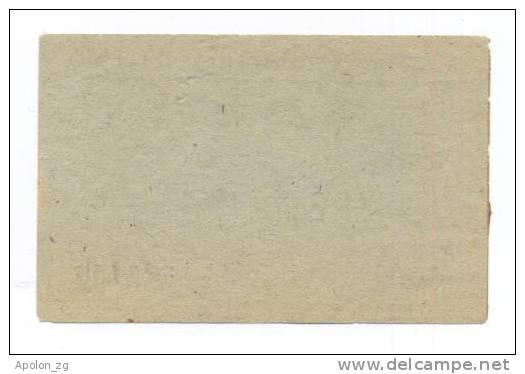 GERMANY - DEUTSCHLAND: 4 RM (1943-1944) -UNC *WORLD WAR II - NAZI - Concentration Camp DACHAU *MEGA RARE HOLOCAUST NOTE! - 1933-1945: Drittes Reich