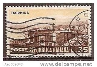 ITALIE -- N°668   Obliteré -- 1953 - 1946-60: Gebraucht