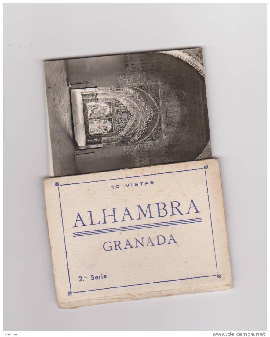 10 VISTAS DE LA ALHAMBRA DE GRANADA - Albumes & Colecciones