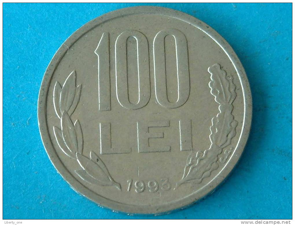 1993 - 100 LEI / KM 111 ( For Grade, Please See Photo ) !! - Roumanie