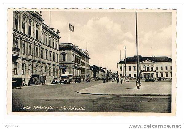 Berlin Wilhelmplatz Mit SS Reichskanzlei - Wilmersdorf