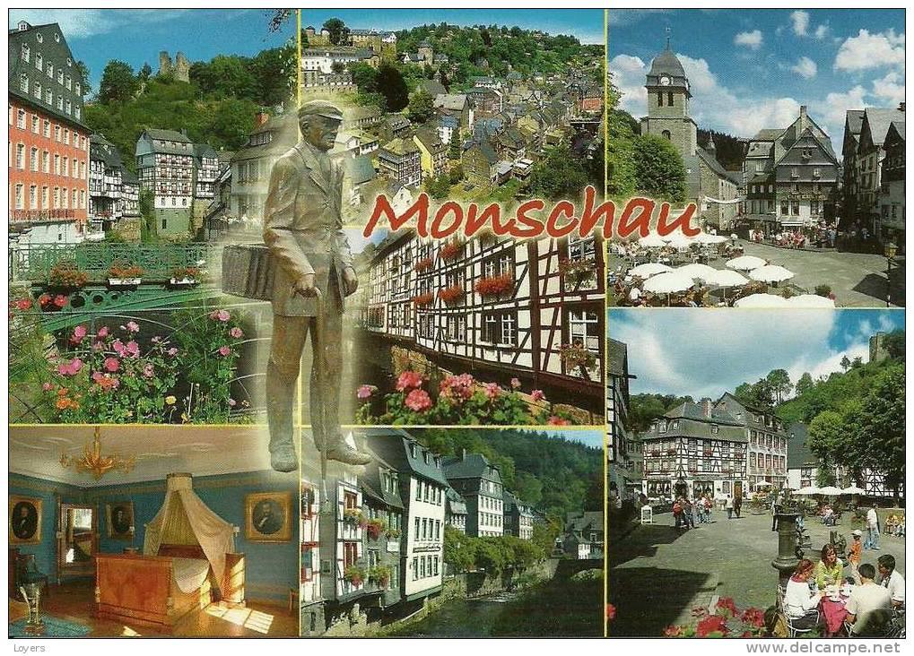 Monschau In Der Eifel  -   Montjoie. - Monschau