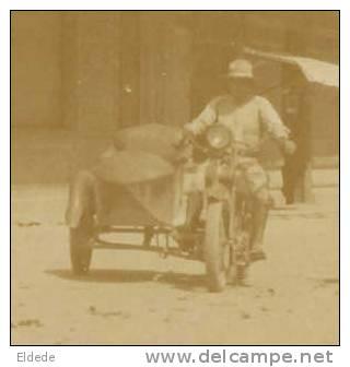 Bogota Real Foto Esquina Palacio Nacional Side Car Moto Motorcycle - Kolumbien