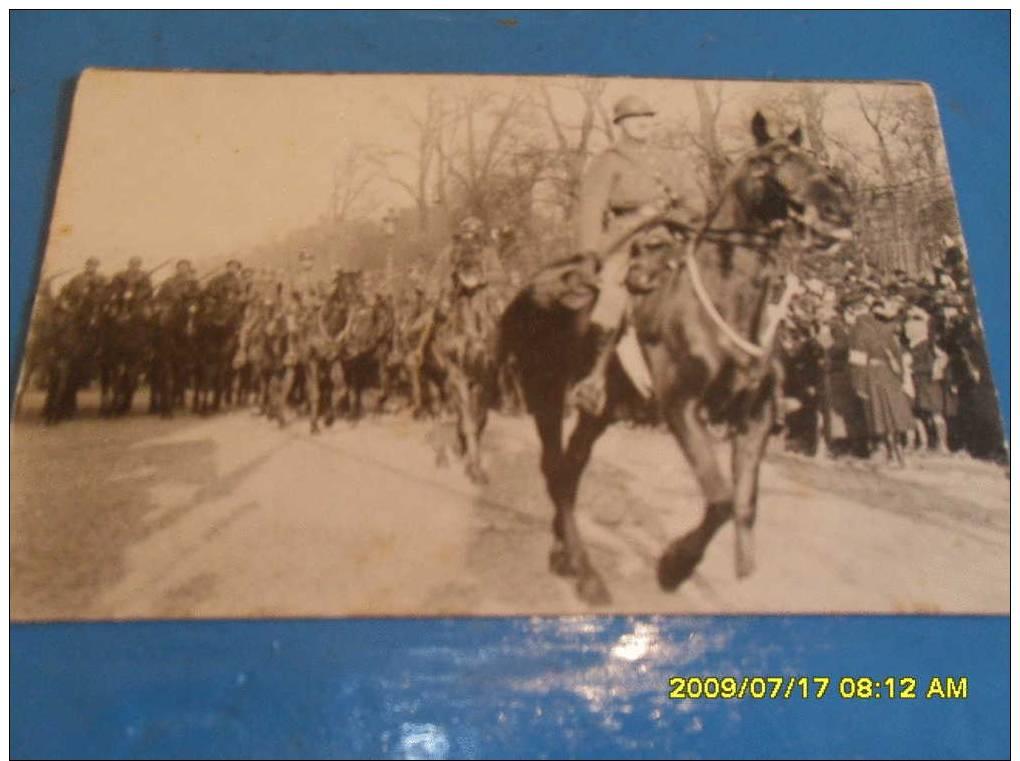 BELGIQUE   =        ARMEE   =     CAVALERIE   =   Défilé   ==    14/18 - Guerre 1914-18