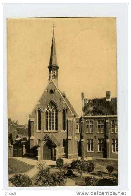 013202  -  St. Denijs Westrem  -  Kostschool H. Theresia Van 't Kind Jezus - De Kapel - Gent