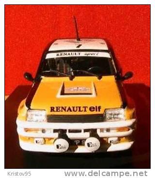RENAULT 5 TURBO TOUR DE CORSE 1982 1/43 RAGNOTTI RALLYE ELIGOR HACHETTE - Eligor