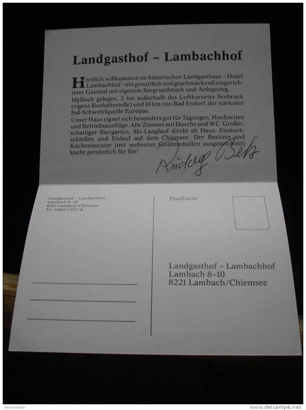 Landgasthof Lambachhof Lambach Chiemsee - Chiemgauer Alpen