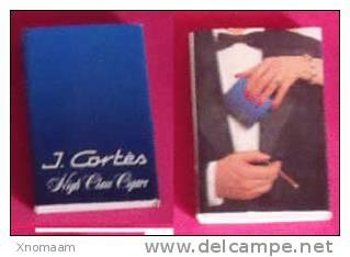 Boîte Allumette - J. Cortès - Cigars - Tabac (objets Liés)