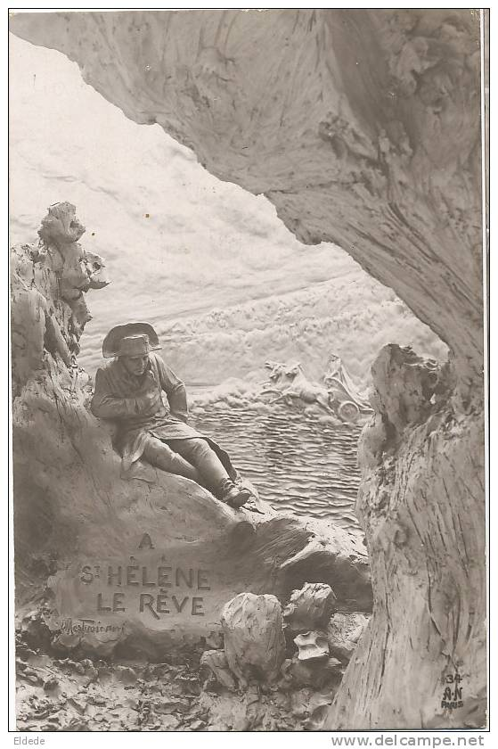 Ste Helene  Napoleon Le Reve  Illust Mastroianni - Saint Helena Island