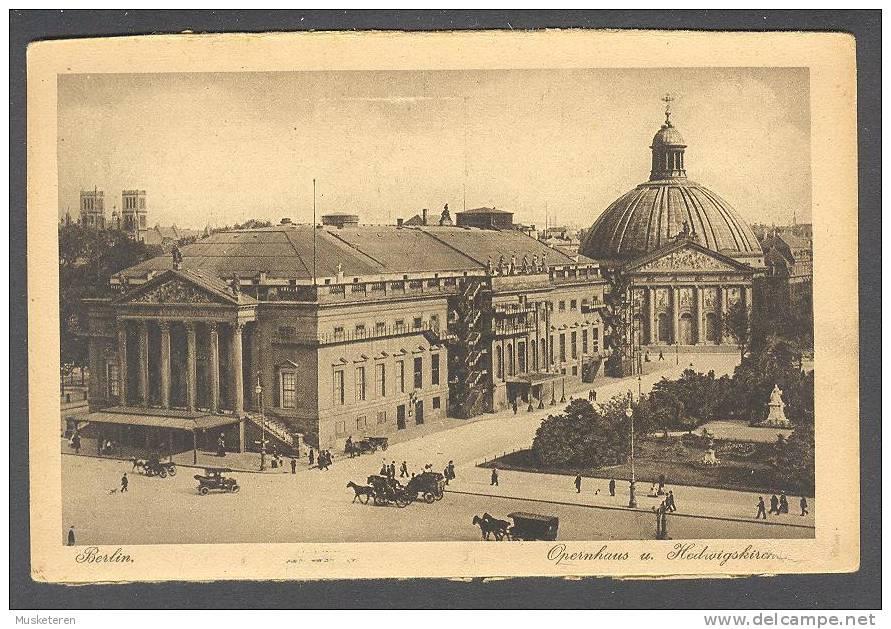 Germany Berlin - Opernhaus U. Hedvigskirche J. W. B. Serie Rembrandt Nr. 71 - Allemagne