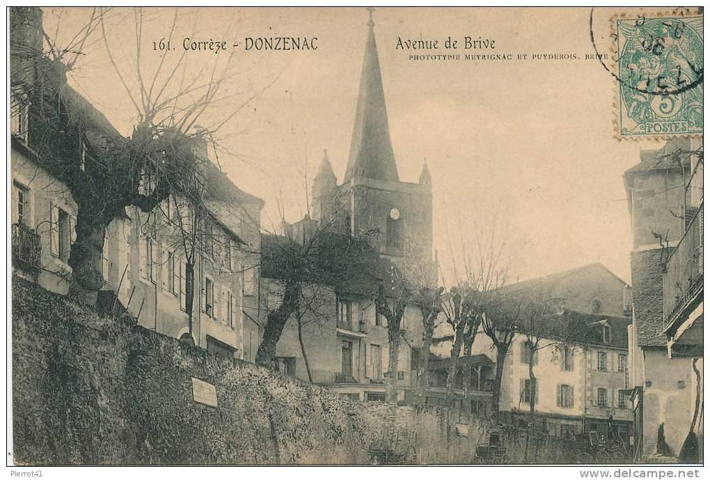 DONZENAC - Avenue De Brive - Zonder Classificatie