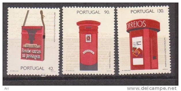 Portugal Short Set Post Boxess. MNH - 1910-... República