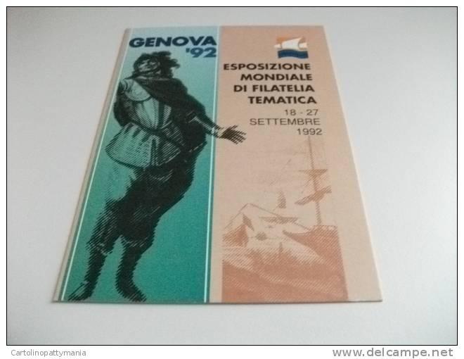 Genova Esposizione Mondiale Filatelia Tematica Colombo - Esposizioni