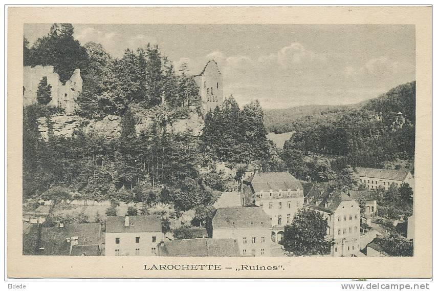 Larochette  Angelsberg Wagner  25 783 Ruines - Larochette