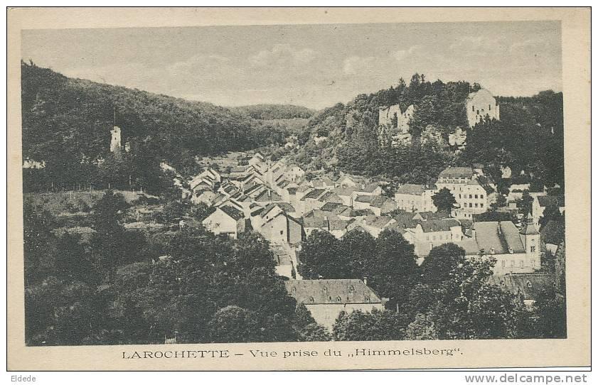 Larochette  Angelsberg Wagner  25 786 Vue Prise Du Himmelsberg - Fels