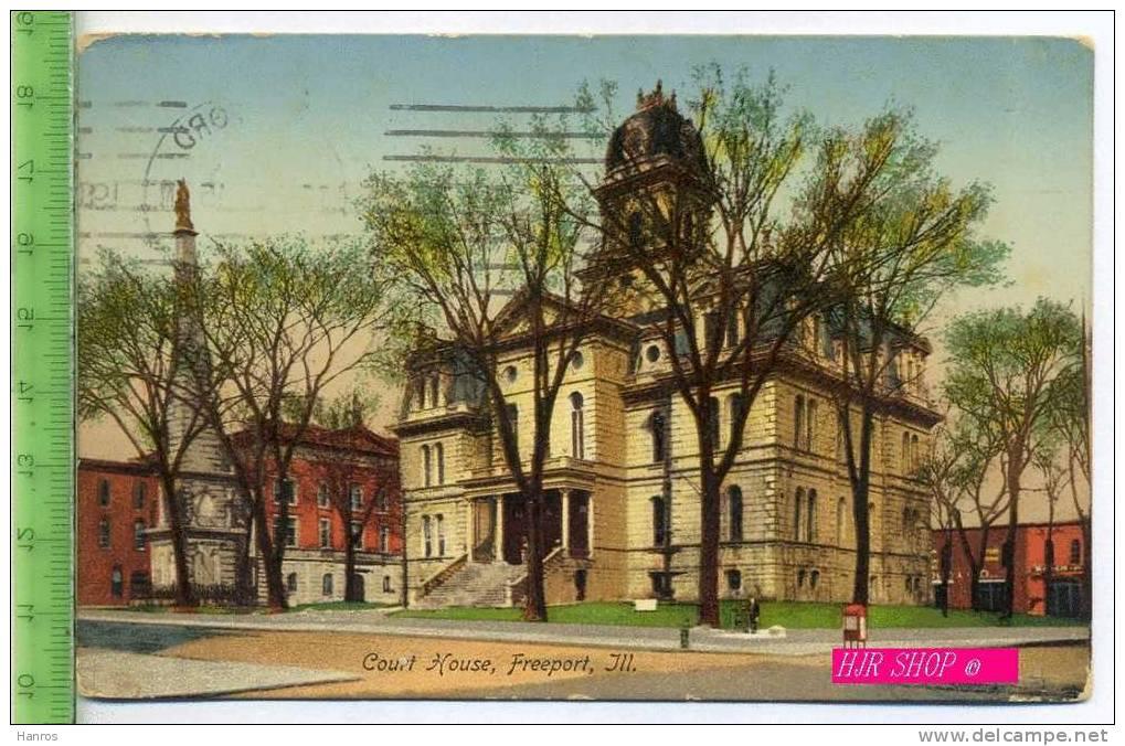 Court House, Freeport, Ill. Gel.  16.09.1945 - Angola