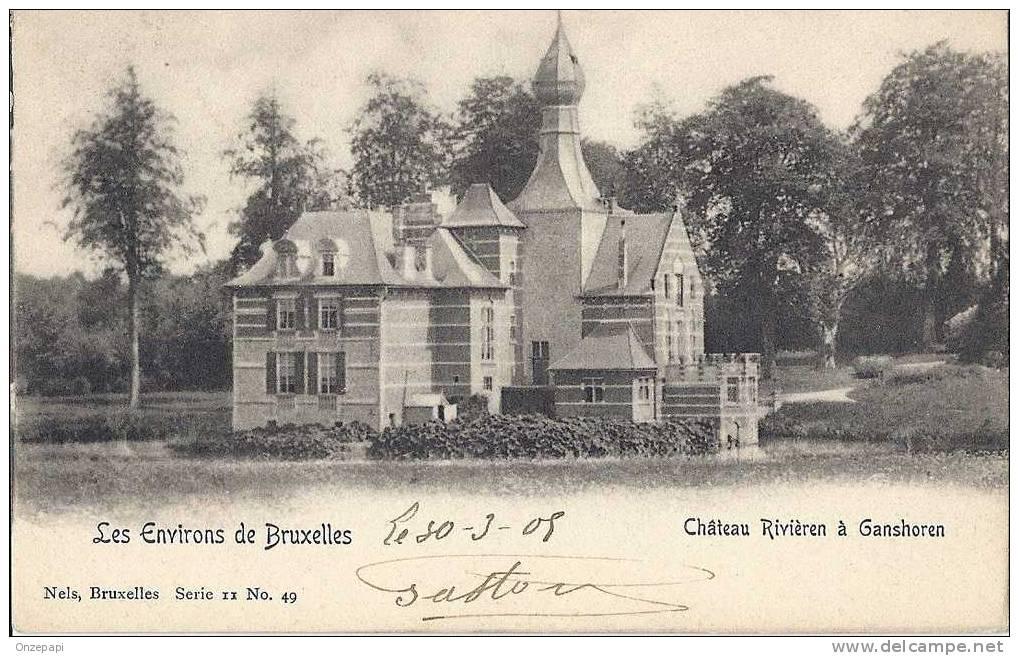 GANSHOREN - Château Rivièren à Ganshoren - Ganshoren