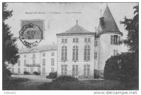 REYNEL  - Le Château - Cour D'honneur . - France