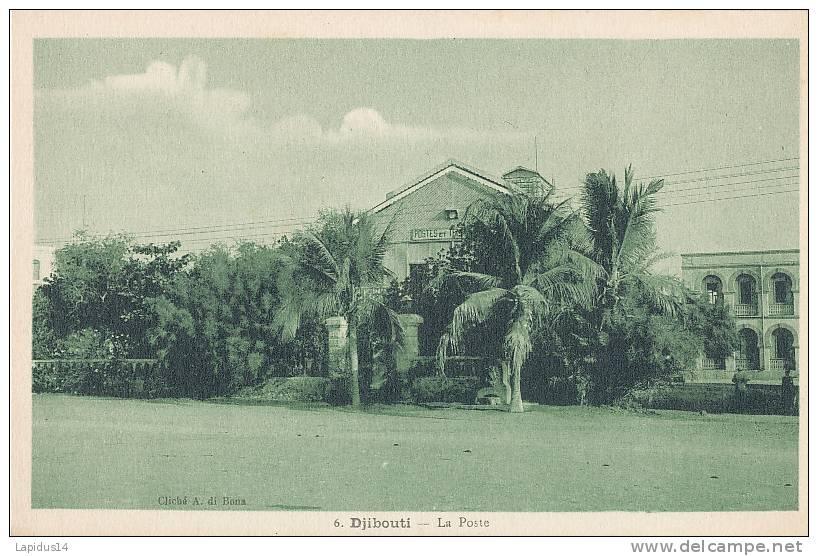 U 749 / CPA    AFRIQUE -  DJIBOUTI -  LA POSTE - Gibuti