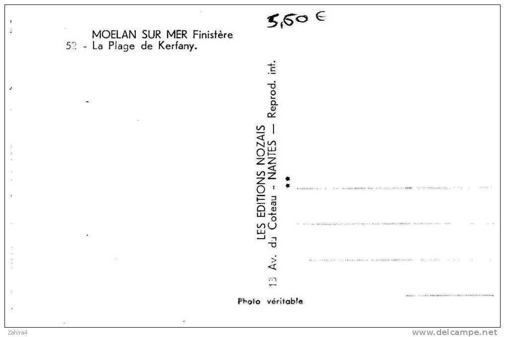 52  -  Moelan Sur Mer  -  Plage De Kerfany - Moëlan-sur-Mer