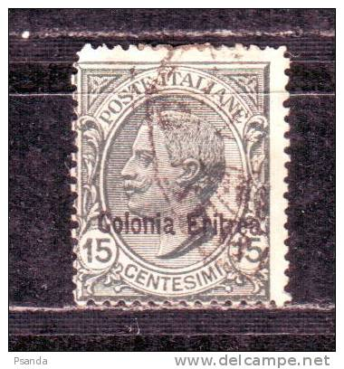 Italy- Eritrea1908 Scott  A48 37 - Eritrea