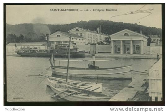 83 SAINT MANDRIER /           L'hôpital Maritime     / - Saint-Mandrier-sur-Mer