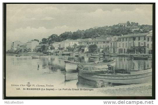 83 SAINT MANDRIER /           Creux Saint-Georges - Le Port     / - Saint-Mandrier-sur-Mer