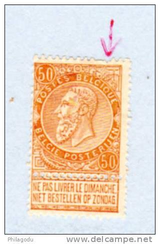 Fine Barbe 62* , Cote 65  €   Joli Bouche Case - 1893-1900 Schmaler Bart