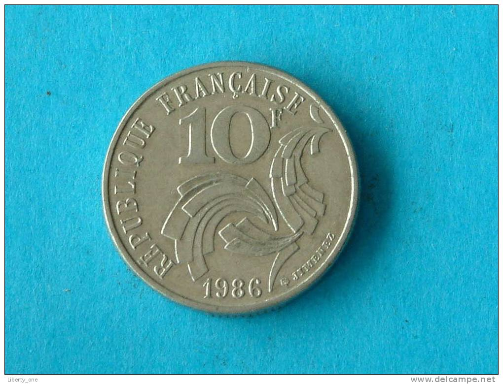 1986 - 10 Francs / KM 959 - ( For Grade, Please See Photo ) ! - France