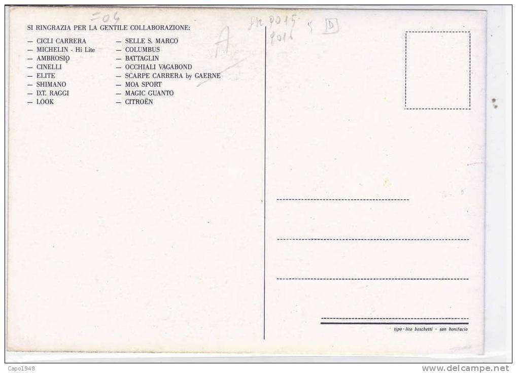CARD CICLISMO DA SILVA ACACIO PUB. CARRERA IEANS  -FG-N-2-0882-9016-15-D - Cyclisme