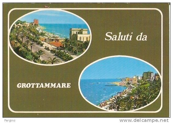 4365 - GROTTAMARE (ASCOLI PICENO) - Saluti Da, Con Vedutine - Ascoli Piceno