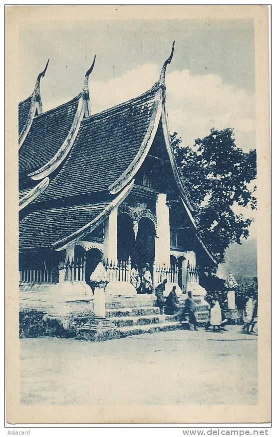 Laos  Pagode Vat Xieng Ton  Mission Des Oblats - Laos