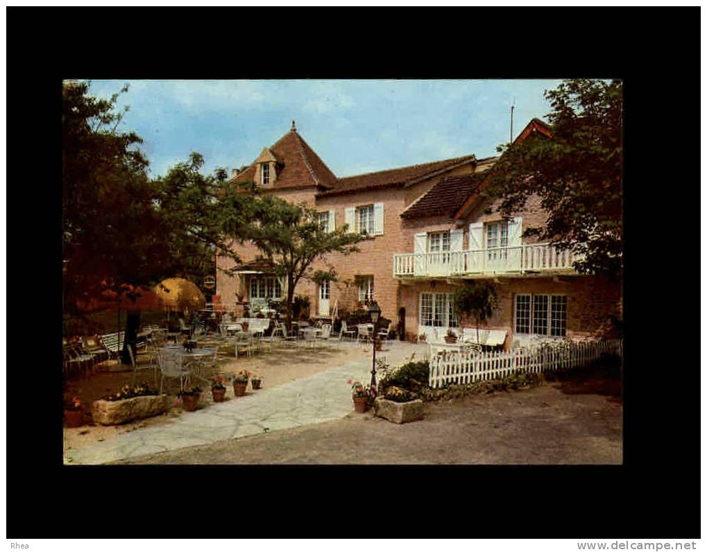 24 - TAMNIES-en-PERIGORD - Hotel Restaurant Laborderie - Carte Pub - France