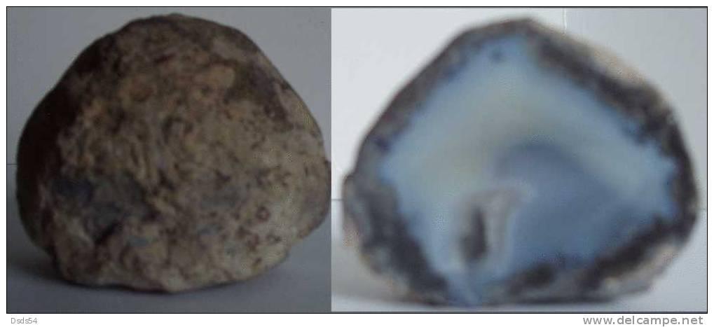 Géode  Agate Polie - Minerals
