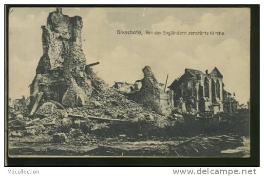 BELGIQUE BIXSCHOTE /         Von Den Engländern Zerströrte Kirche       / - Langemark-Poelkapelle