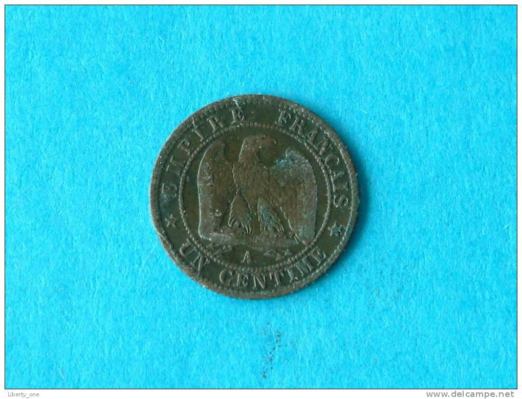 1862 A - UN CENTIME / KM 795.1 ( Details Zie Foto ) ! - France