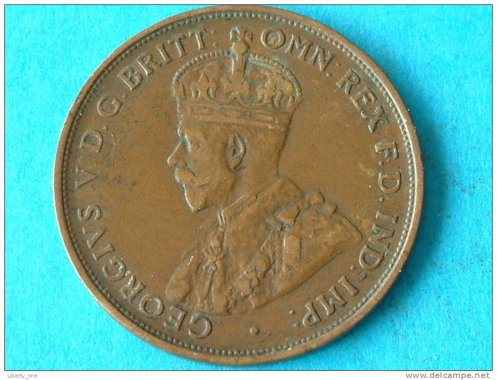1919 ( Dot Below ) - ONE PENNY / KM 23 ( For Grade, Please See Photo ) !! - Penny