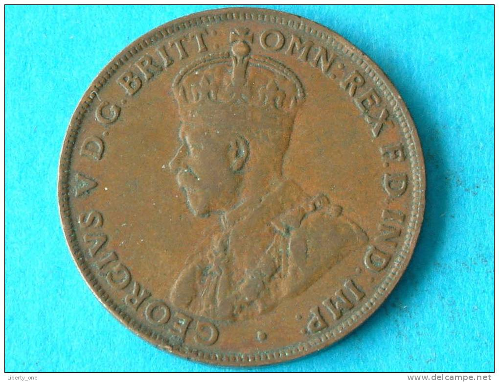 1922 - ONE PENNY / KM 23 ( For Grade, Please See Photo ) !! - Penny