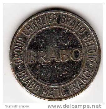 Jeton Franco-Belge : Group Charlier BRABO België : BRABO Matic France - Monetari / Di Necessità