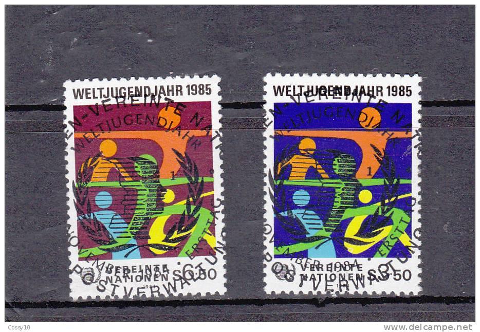 NATIONS  UNIES  VIENNE   1984   OBLITERATIONS  CENTRALES - Centre International De Vienne